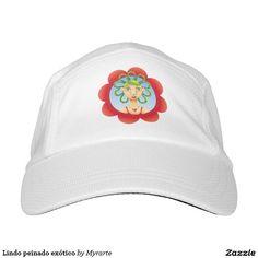Lindo peinado exótico hat.  Producto disponible en tienda Zazzle. Accesorios, moda. Product available in Zazzle store. Fashion Accessories. Regalos, Gifts. Link to product: http://www.zazzle.com/lindo_peinado_exotico_hat-256316221783996286?CMPN=shareicon&lang=en&social=true&view=113734723267637565&rf=238167879144476949 #gorra #hat