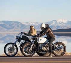 Photo taken by @bjespe . Sunday Funday. #relationshipgoals #caferacer…