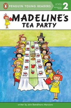 Madeline's Tea Party (Penguin Young Readers, L2) by John Bemelmans Marciano, http://www.amazon.com/dp/0448454394/ref=cm_sw_r_pi_dp_inWYrb0732FWW