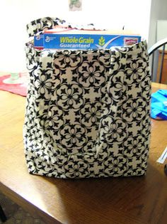 Hometown Victory Girls: Reusable Shopping Bag Tutorial