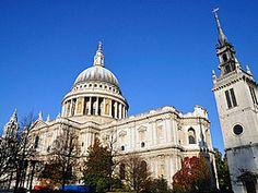 Catedral de San Pablo, lateral Londres