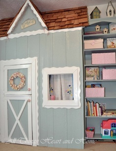 Indoor closet playhouse