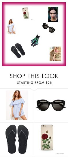 """""""It's The Weekend"""" by isabella-frazier on Polyvore featuring Havaianas"""