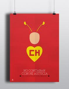 Tributo a Chespirito desde el diseño