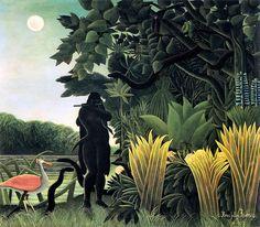 lullullull:  by Henri Rousseau - La Charmeuse de Serpents, 1907,...