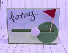 "Search for ""Golf"" - Stamp A Latte - Leonie Schroder Stampin' Up! Dad Birthday Card, Birthday Cards For Men, Funny Birthday Cards, Husband Birthday, Birthday Ideas, Happy Birthday, Tarjetas Stampin Up, Stampin Up Cards, Lego Card"