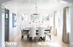 Open, airy, light-filled: great #dining space!