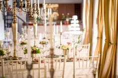 Stunning decor by Rickety Bridge, Wedding Decorations, Table Decorations, Cape Town, Wedding Venues, Candles, Wine, Home Decor, Wedding Reception Venues