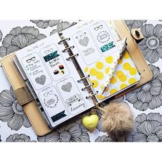 Love these DIY colour-themed trinkets to add to your Filofax organisation ideas. Planner Organisation | Filofax Organisation Planner | Filofax Organisation Ideas | Filofax Organisation Setup | Products.