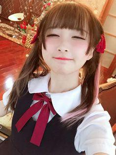 Image shared by dopingconsomme on We Heart It Asian Cute, Cute Asian Girls, Cute Girls, Pretty Girls, Ulzzang, Cute Japanese Girl, Anime Neko, Cosplay, Ecchi Girl