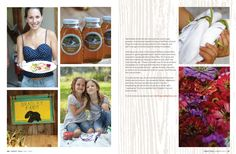 Another example of non-recipe multi-image photo layout...like the faux bois background for Christmas too!