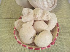 Imantou sono delle sofficissime nuvole di pane cotte al vapore. Non contenendo sale e al tipo di cottura, questi bocconcini hanno un profumo ed un sapore