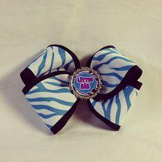 #bjsbowbows #littlesis #sisters #bow #hairbow #turquoise #zebra