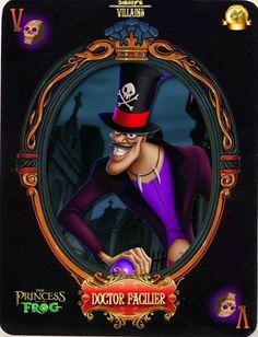 Dr. Facilier (Cards by Maleficent84 @deviantART) #ThePrincessAndTheFrog