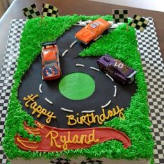 Race Car Birthday Party 2 Cake