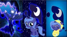 3 Luna's by *Macgrubor on deviantART