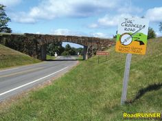 Virginia: Crooked Road Tour  Motorcycle Tour with story, info, maps, and GPS files