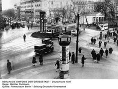 Walter Riemann, Sinfonie einer Grossstadt, 1927.
