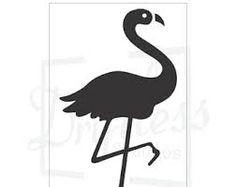 Image result for flamingo stencil