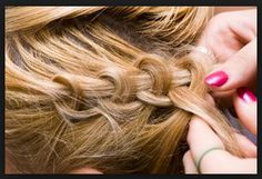 How To French Braid Your Own Hair   Instuctions