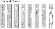 Image result for sawn baluster