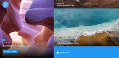 Top 15 Material Design Themes - eWebDesign Yellowstone National Park, National Parks, Flat Web, Design Language, Material Design, Cool Designs, Top, Outdoor, Outdoors