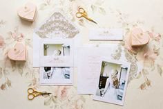 We're dying over Rose & Ruby Paper Co.'s latest #romantic #wedding stationery collection by @Rose Murphy