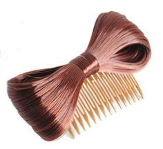 Fashion Hair Extension Bow Bowknot Comb Clip Hairpiece Wine Red by whatstart. $4.99. Brand New. synthetic fiber KANEKALON. Our wigs are 100% made of top synthetic fiber KANEKALON. It is the best fiber yarn wig currently in the market, very close to real human hair in terms of physical properties, appearance, color and feeling. As the highest quality synthetic fiber,KANEKALON is silky-soft, easy to manipulate, easy to brush, and highly realistic. Hair care: the attache...