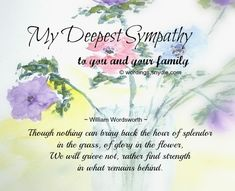 31 inspirational sympathy quotes for loss with images sympathy