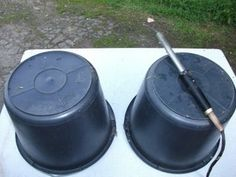 Growing Potatoes in Buckets : 4 Steps (with Pictures) - Instructables Grow Potatoes In Container, Planting Potatoes, Container Gardening Vegetables, Potato Barrel, Fresh Potato, Bucket Gardening, Dig Gardens, Black Bucket, Family Garden