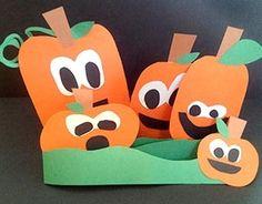 Zigzag Pumpkin Patch Craft Project | Scholastic.com