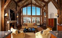 Snowmass, CO: Located 50 yards from Assay Hill, this Snowmass Village luxury vacation home will enchant you with all the space and light it has to offer. The 5 bedr... Vacation Rental
