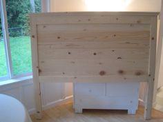 "homemade head boards   Beautiful Nest}: ""Reclaimed Wood"" Headboard (Master Bedroom)"