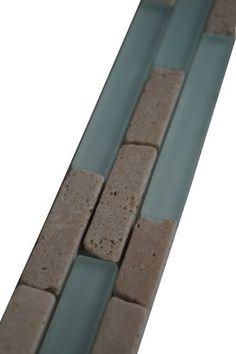 Bekend De 16 beste afbeelding van Mozaiek tegelstrips mix materialen FD09