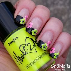 Nailpolis Museum of Nail Art | Konad m31 by #Gr8Nails♥•♥•♥