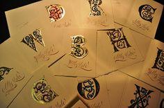 Calligraphy by Loredana Zega : Scrolls - Books - Illumination