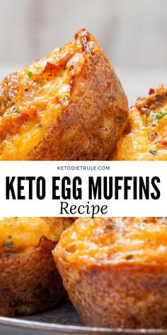 The best keto egg muffins recipe for breakfast. Eggs Keto Egg Muffins with Bacon and Cheese The best keto egg muffins recipe for breakfast. Eggs Keto Egg Muffins with Bacon and Cheese Keto Fat, Low Carb Keto, Low Carb Recipes, Cooking Recipes, Keto Egg Fast, Egg Recipes, Diet Recipes, Keto Egg Muffins, Ketogenic Diet