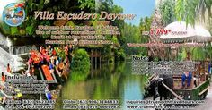VILLA ESCUDERO DAY TOUR, PHILIPPINES, P1,799 ($29)/STUDENT, SEE TERRIFIC INCLUSIONS! BOOK NOW!