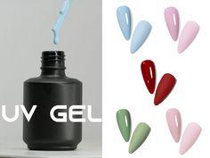 Nail Supply, Uv Gel, Spring Colors