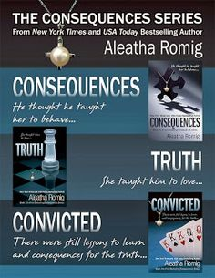 Consequence series By Aleatha Romig. Awesome series. I couldn't put them down. Smh :)