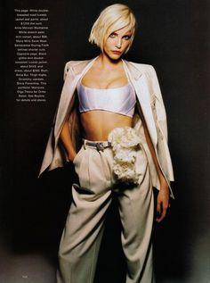 Harper's Bazaar US, November 1994  Model: Nadja Auermann  Manicure: Olga Titova for Oribe Salon