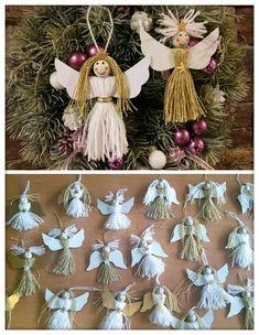 Tvoření s dětmi Christmas Ornaments, Holiday Decor, Christmas Jewelry, Christmas Decorations, Christmas Decor
