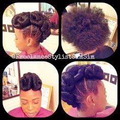 SimSim-Natural Hair Innovator @freelancestylistsimsim Instagram photos   Webstagram - the best Instagram viewer Natural Hair Updo, Natural Hair Styles, Protective Hairstyles For Natural Hair, Black Hairstyles, Updos, Hair Beauty, Nature, Photos, Instagram