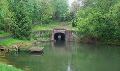 Union Canal Tunnel, photo © Lebanon County Historical Society  Lebanon, Pa.