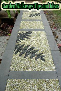 Garden Walkways Tips and Ideas #garden #Walkway