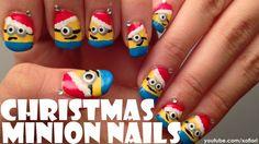 santa christmas nails youtube - Google Search