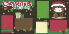 Christmas Memories Page Kit