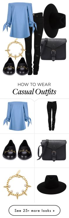 """""""Casual Chic"""" by sophieandtilly on Polyvore featuring rag & bone, Yves Saint Laurent, Joomi Lim, TIBI and casualoutfit"""
