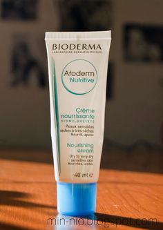 nio's beauty corner: Atoderm Nutritive - review bioderma