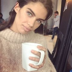 Sara Sampaio - Country: Portugal About her: Sampaio may be a staple face in the Victoria's Secret family, but she is also a brown belt in karate and plays the violin.